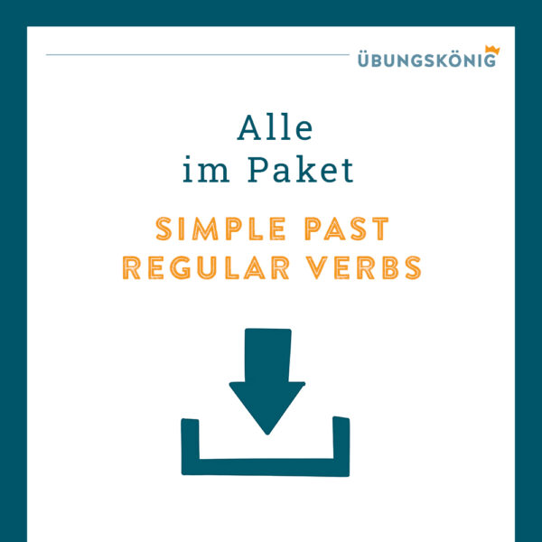 Königspaket: Simple Past - Regular Verbs